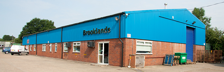 Brooklands warehouse